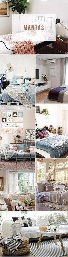 Dicas de decoração para o Inverno: sua casa mais aconchegante no frio!   Mantas #decoração #decor #casa #frio #inverno #dicas #inspiração #blog #lnl #looknowlook