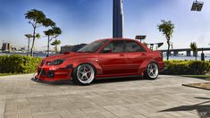 Checkout my tuning 2006 at Front Brakes, Rear Brakes, Fender Flares, Window Decals, Subaru Impreza, Sliders, Cars, Vehicles, Autos
