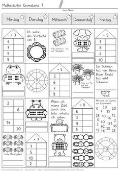 mathestarter-1x1-woche-1-und-2 - Zaubereinmaleins - DesignBlog