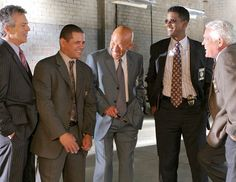"  The Closer"" cast: Tony Denison, Raymond Cruz, Michael Paul Chan ..."