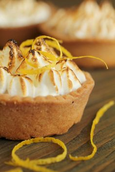 Cheat's Mini Lemon Meringue Tarts