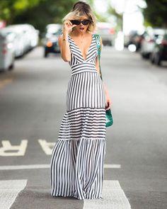 "235 curtidas, 3 comentários - NoFaceStylist (NoFaceStylist) no Instagram: ""|#... - #comentários #curtidas #Instagram #NoFaceStylist Party Dresses For Women, Summer Dresses, Casual Dresses, Fashion Dresses, Dresses Dresses, Dresses Online, Dress Skirt, Dress Up, Mode Kimono"