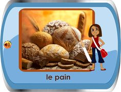 photo flashcards on almost every basic topic: food, activities, body parts, home, etc; free printable worksheets on an assortment of topics- Ones for l'heure look good. #french1 #french2 #french3