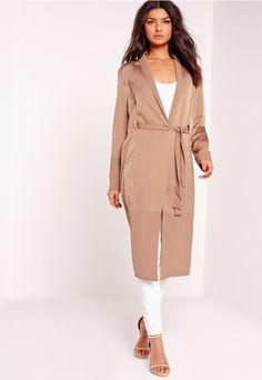 Silky Duster Coats to Covet | Fashion, Beauty & Style Blogger - Pippa O'Connor
