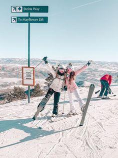 skiing with my bestie in deer valley Utah! Cute Friend Pictures, Best Friend Photos, Cute Pictures, Friend Pics, Deer Valley Utah, Ski Season, Winter Pictures, Cute Friends, Foto Pose
