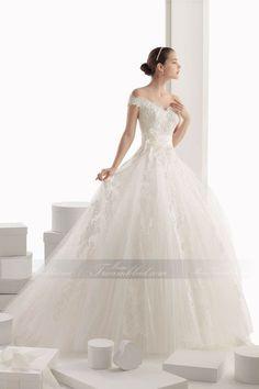 Prinzessin Stil Bodenlanges Fantastisches Brautkleid