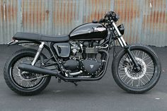Modified Triumph Bonneville