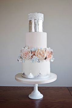 Wedding cake designer offering a luxury bespoke wedding cake service throughout Suffolk & Norfolk, Essex, Cambridgeshire, London and cake decorating classes Amazing Wedding Cakes, Fall Wedding Cakes, Wedding Cake Rustic, Elegant Wedding Cakes, Wedding Cake Designs, Amazing Cakes, Gorgeous Cakes, Pretty Cakes, Cake Stencil