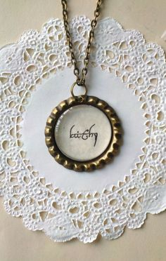 Your Name in ElvishLike Script  Lord of the Rings by MadCapFun - seriously considering ordering one of these!! perfect <3