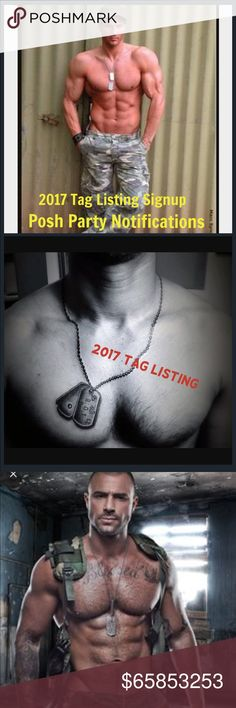 2017 🇺🇸Dog Tag🇺🇸Listing Signup Like comment and share 😘 Listing will not be shared by other groups. This is a Private Listing I personally will use to notify you of upcoming Posh Parties. Together, let's get your closets recognized for potential Host Picks 💕🎉💕🎉 Only Posh Compliant Closets will be accepted 💯👍😊 Accessories