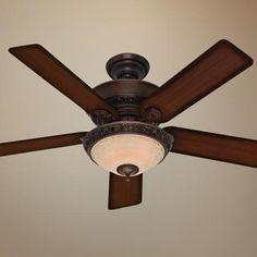 "52"" Hunter Italian Countryside Ceiling Fan - #50236 | LampsPlus.com for the bedroom"