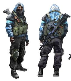 USMC Body Armor Concept Art | Image - SCS Clear Sky Concept Art 1.png - The S.T.A.L.K.E.R. Wiki ...