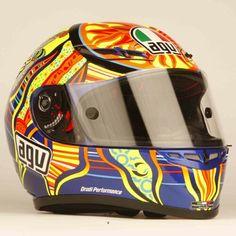 VR46 helmet