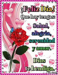 ღ Love Emoticons ღ feliz dia! Dios te bendiga..