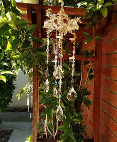 "Suncatcher ""Summer Solstice"" Fairy Crystal Chandelier by fairycircledesigns on Etsy"