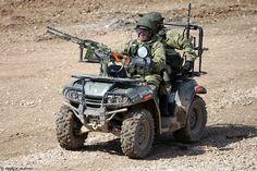 Армейский мотовездеход АМ1 (AM1 vehicle) ARMY 2016