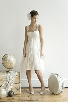 Elizabeth Dye ghost dress, $1,000, Etsy.com, Beach wedding