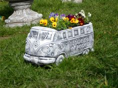 Vw CamperVan  Garden Ornament planter