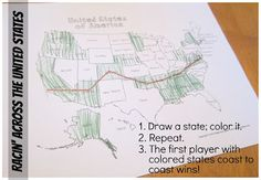 Relentlessly Fun, Deceptively Educational: Racin' Across the United States [a Geography game]