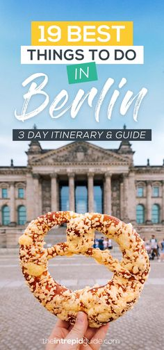 Berlin itinerary: 19 absolutely best things to do in Berlin The uners . - Berlin itinerary: 19 absolutely best things to do in Berlin The intrepid guide Berlin i - Was Tun In Berlin, 2 Days In Berlin, Best Of Berlin, Berlin Things To Do In, Berlin Germany, Berlin Berlin, Berlin Travel, Germany Travel, Paris Travel