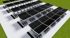 Solar fietsenstalling met geïntegreerde zonnepanelen: Bent u toe aan een nieuwefunctionele fietsenstalling voor in uw gemeente, bij uw bedrijf, hotel. school, bus-/tramhalte, trein-/metrostation o…