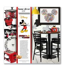 Decorate Your Kitchen With Mickey