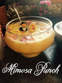 The extraordinary life of the average woman: Mimosa Punch