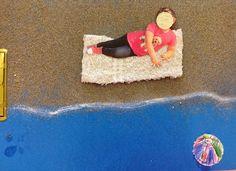 Tapa álbum playa - Els Nostres Moments a l'aula d'infantil