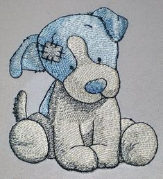 OV_Puppy_OldToy (Chase the Jack Russell) - Its machine embroidery design for a Babies and Children of series Old Toy made by Oksana Vushkan.