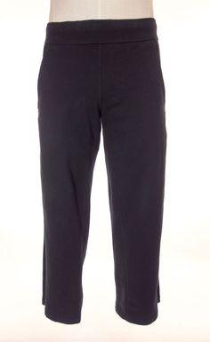 LULULEMON Mens Pants Size M Black Straight Leg Knit Sides Track Work Out #Lululemon #Pants