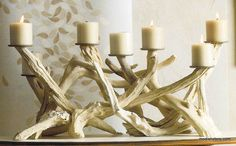 Roost Driftwood Candelabra, Horizontal * next day shipping