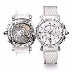 Breguet Ladies Marine Chronograph 18k white Gold & Diamonds - #Women #Fashion #Miami