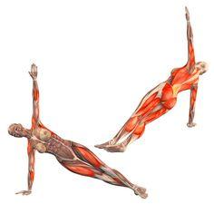 Half side plank pose on right hand, legs crossed - Vasisthasana crossed right - Yoga Poses   YOGA.com