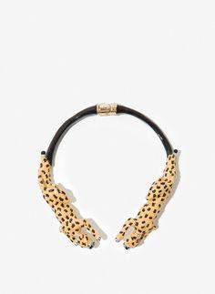 Collar leopardo - Última semana - Uterqüe España