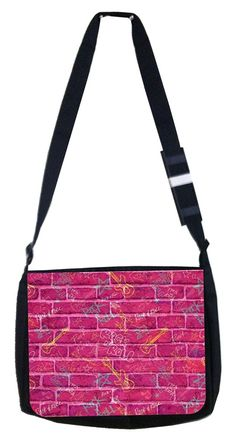 rock and roll Rosie Parker Inc. TM Medium Sized Messenger Bag 11.75' x 15.5' ** Details can be found by clicking on the image. (This is an Amazon Affiliate link and I receive a commission for the sales)