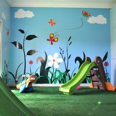 make one room a mini playground
