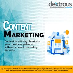 Dextrous is a professional content marketing agency that can help you reach your audience and drive engagement, awareness and sales via PR, Search, Social, Voice Search, Email and Influencer channels. Like any great content marketing agency we are only as good as the results we deliver. Seo Marketing, Digital Marketing Services, Content Marketing, Online Marketing, App Development, Engagement, Search, Business, Searching