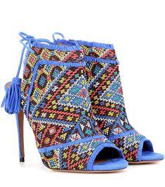 mytheresa.com - Sandali Colorado in suede con decorazione - Luxury Fashion for Women / Designer clothing, shoes, bags