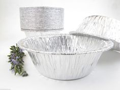"""This is an extra deep pot pie pan, larger than a standard pot pie pan. 5¾ """" Foil Pot Pie Pan - Extra Deep - #2400. 5¾ """" pot pie pan dimensions Great for pot pies, meat pies, cobblers, casseroles, and desserts.   eBay!"""