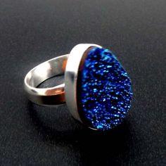 kobaltowa łza agatu (proj. Pracownia Neores)
