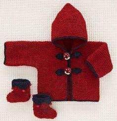 Le duffle-coat rouge Champignons de Beauchamp