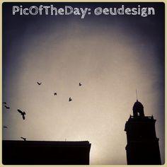 #PicOfTheDay #turismoER: volando sul cielo di #Ferrara - Complimenti e grazie a @eudesign