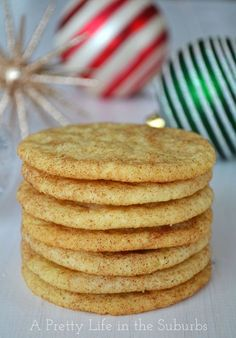 Snickerdoodles {A Pretty Life}  |  A simple recipe for soft and delicious Snickerdoodles!