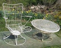 patio furniture table midcentury modern - Google Search
