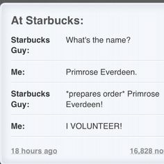 Starbucks Reaping ;)