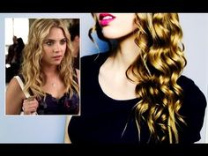 Hanna's LONG-LASTING Beachy Waves || Pretty Little Liars Inspired Hair Tutorial