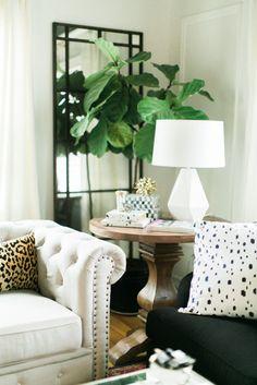 Studded sofa | theglitterguide.com