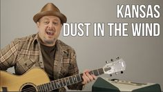"How to Play ""Dust in the Wind"" on guitar - Kansas - Fingerstyle Guitar L..."