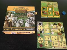 Juegos de mesa para dos en 30' - Agricola, animales en la granja