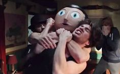 'Frank' trailer: Michael Fassbender covers up with giant, fake head — VIDEO | EW.com